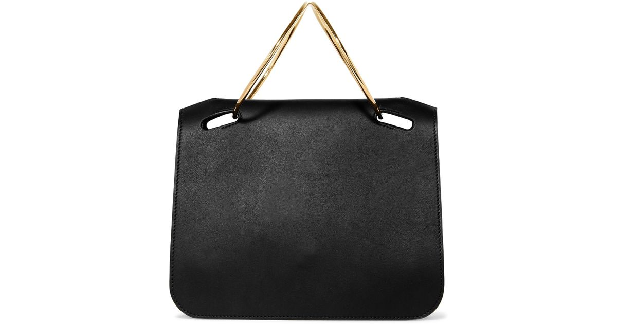 Weekend Mini Two-tone Textured-leather Tote - one size Roksanda Ilincic mcuyv7ZfM