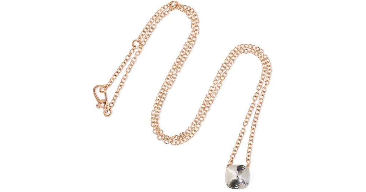 Nudo Solitaire 18-karat White And Rose Gold Diamond Necklace - White gold POMELLATO 5f6IUBTg