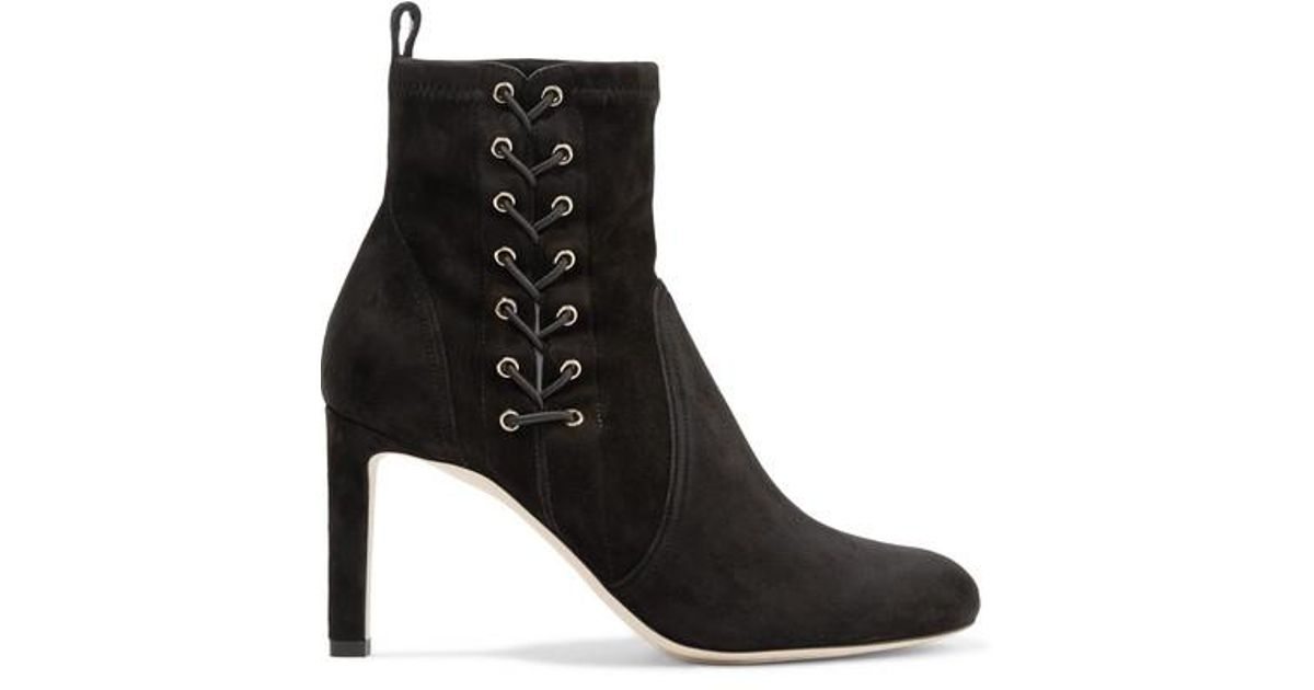 44383eb627b Jimmy Choo Ankle Boots in Black - Save 4% - Lyst