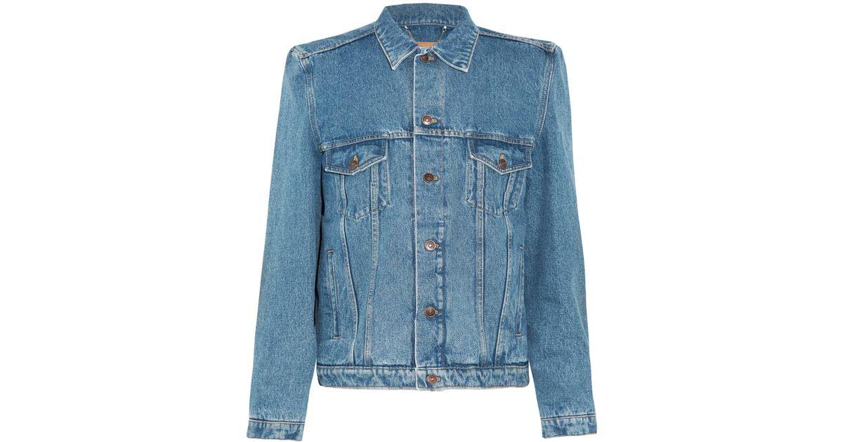 9980573fbf Balenciaga Denim Jacket Bernie