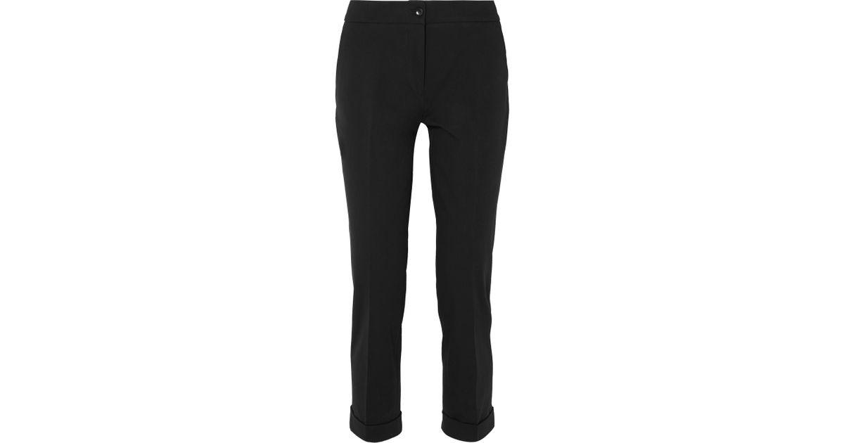 Sergé Extensible Coton Pantalon Slim-jambe - Etro Noir IYsKwz0uy