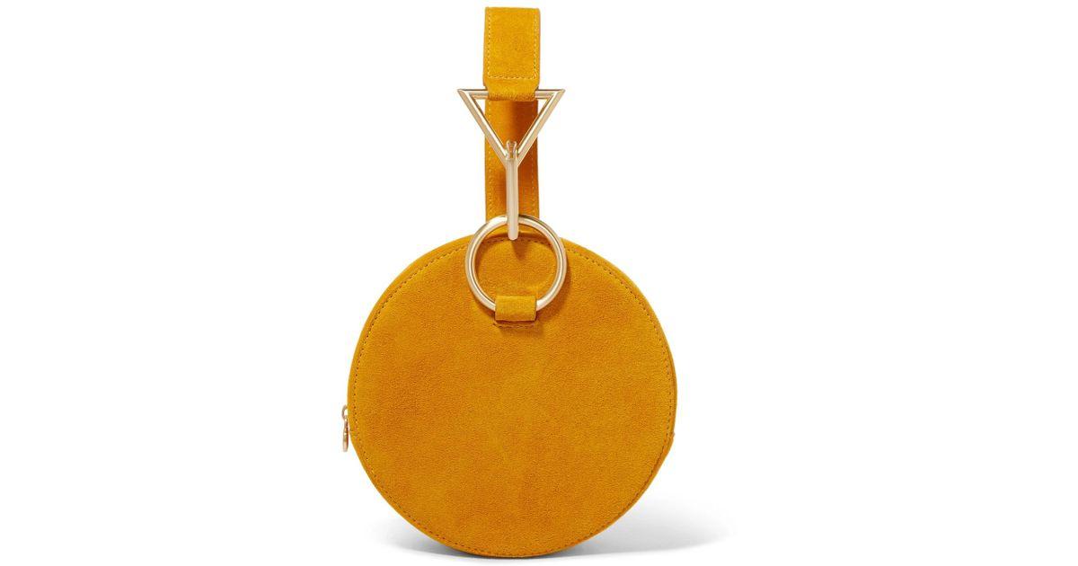 Get New Ebay Cheap Price Azar Suede Clutch - Saffron Tara Zadeh Clearance Deals Finishline Sale Online Buy Cheap Wide Range Of NeDkRd