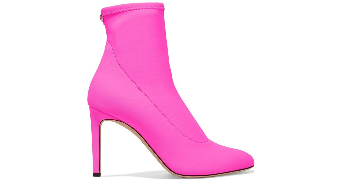 Giuseppe Zanotti Bimba Stretch-jersey Sock Boots - Fuchsia Big Sale Cheap Online Visit Cheap Online Natural And Freely Outlet 2018 New 0RO4y