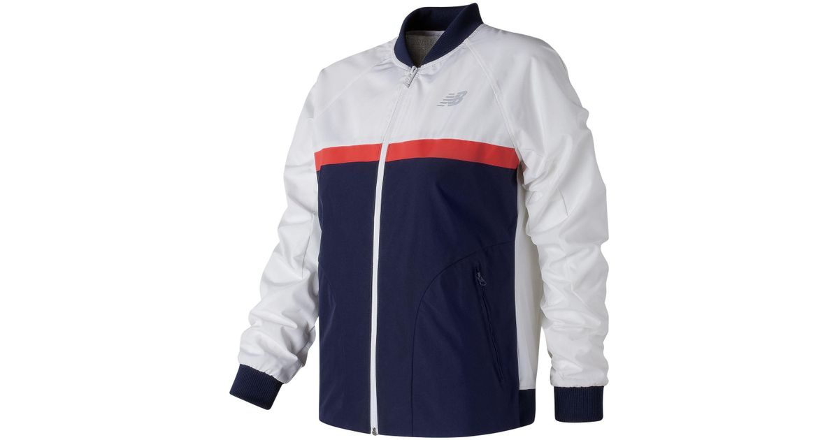 7c8b40a1e995f New Balance Nb Athletics 78 Jacket in White for Men - Lyst