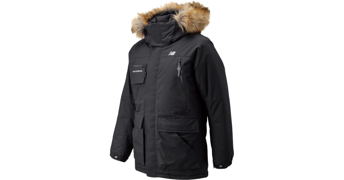 1b8acc794c65d New Balance Patrol Down Jacket in Black for Men - Lyst