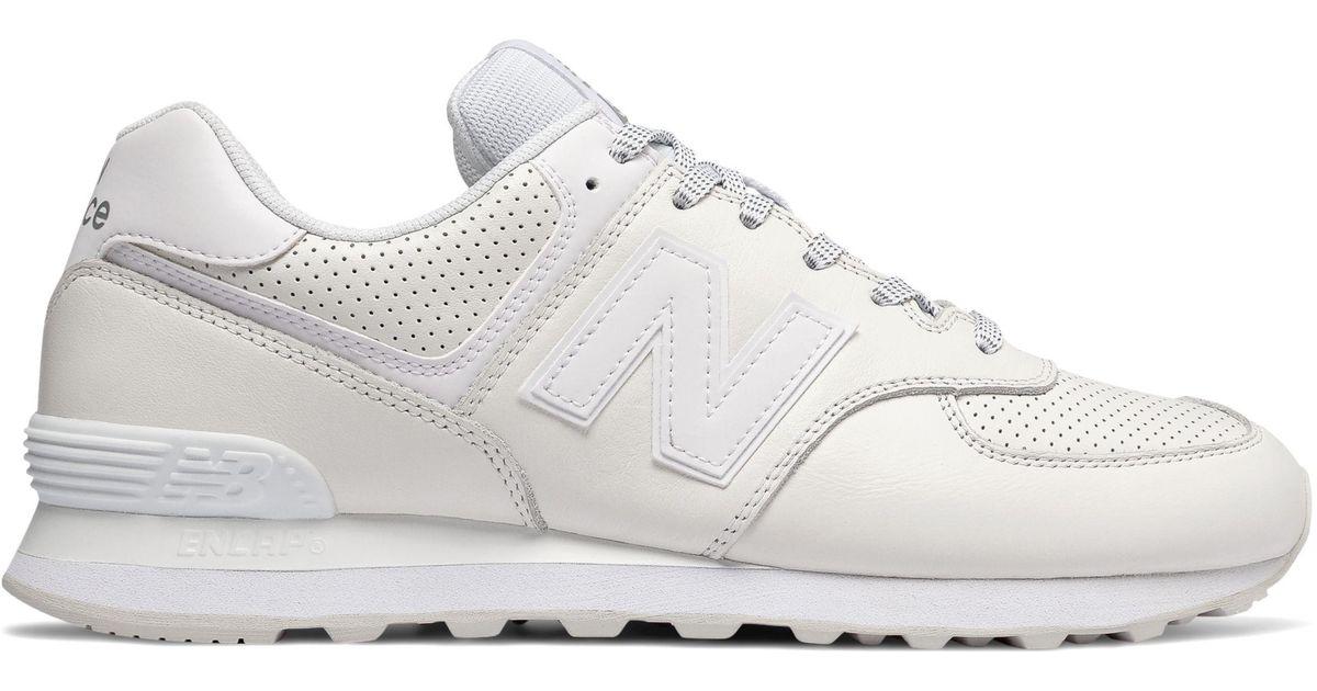 new balance 574 off white