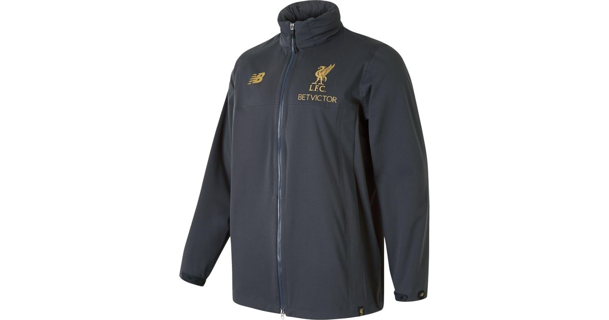 9bb30a3cd Lyst - New Balance Liverpool Fc Managers Rain Jacket for Men