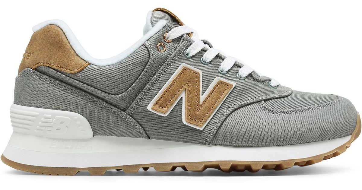 new balance 574 ounce canvas