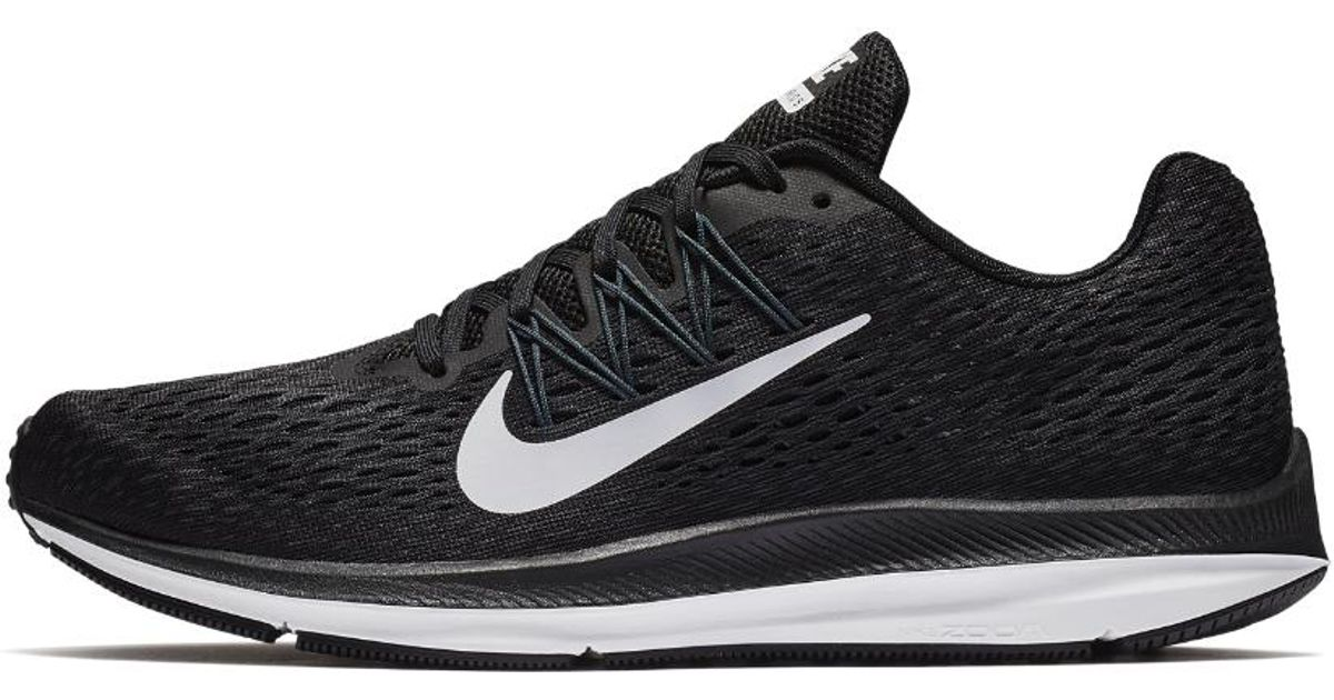 super popular a3795 6db30 Nike Air Zoom Winflo 5 Men s Running Shoe in Black for Men - Lyst