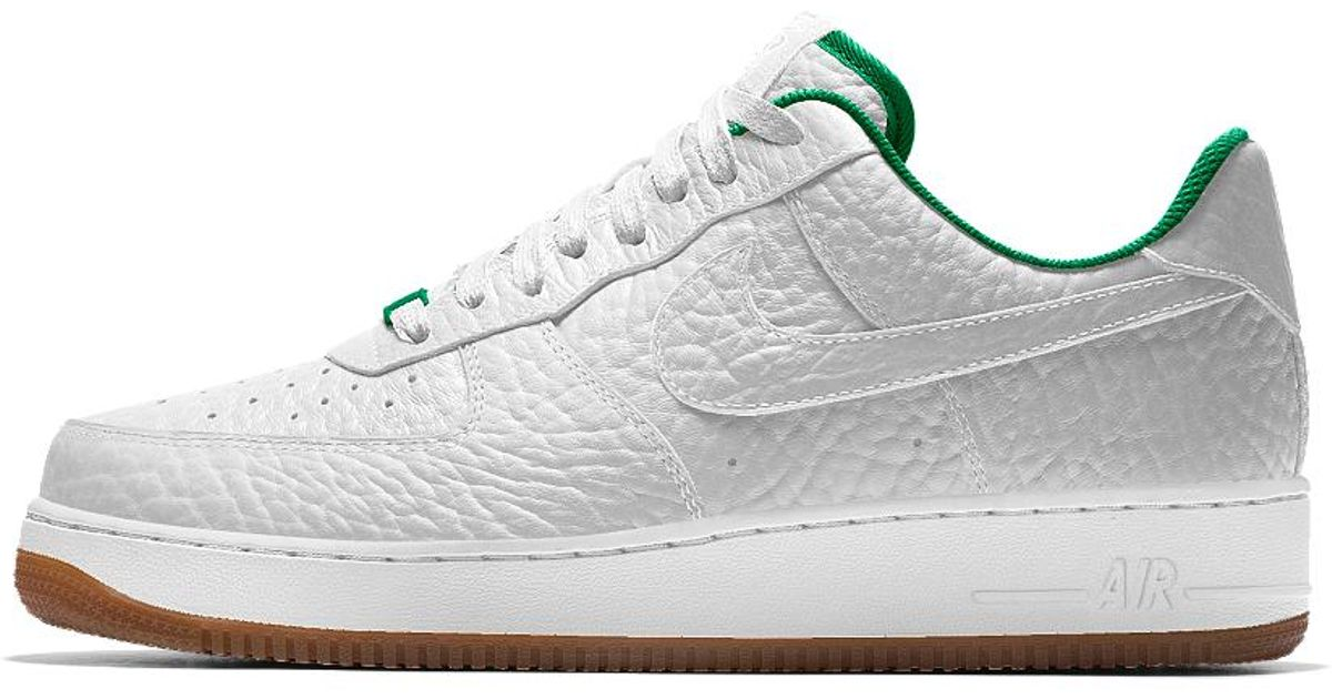 the best attitude 4a224 af5d5 Nike Air Force 1 Low Premium Id (boston Celtics) Men's Shoe in White for  Men - Lyst