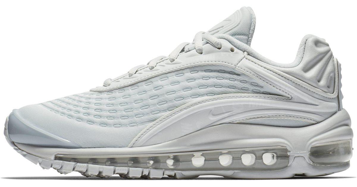 ae1b8e1df9 Nike Air Max Deluxe Se Shoe in Metallic - Lyst