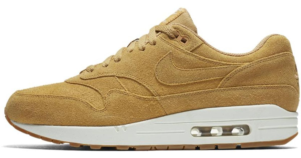 343b68df61 Lyst - Nike Air Max 1 Premium Men's Shoe in Brown for Men