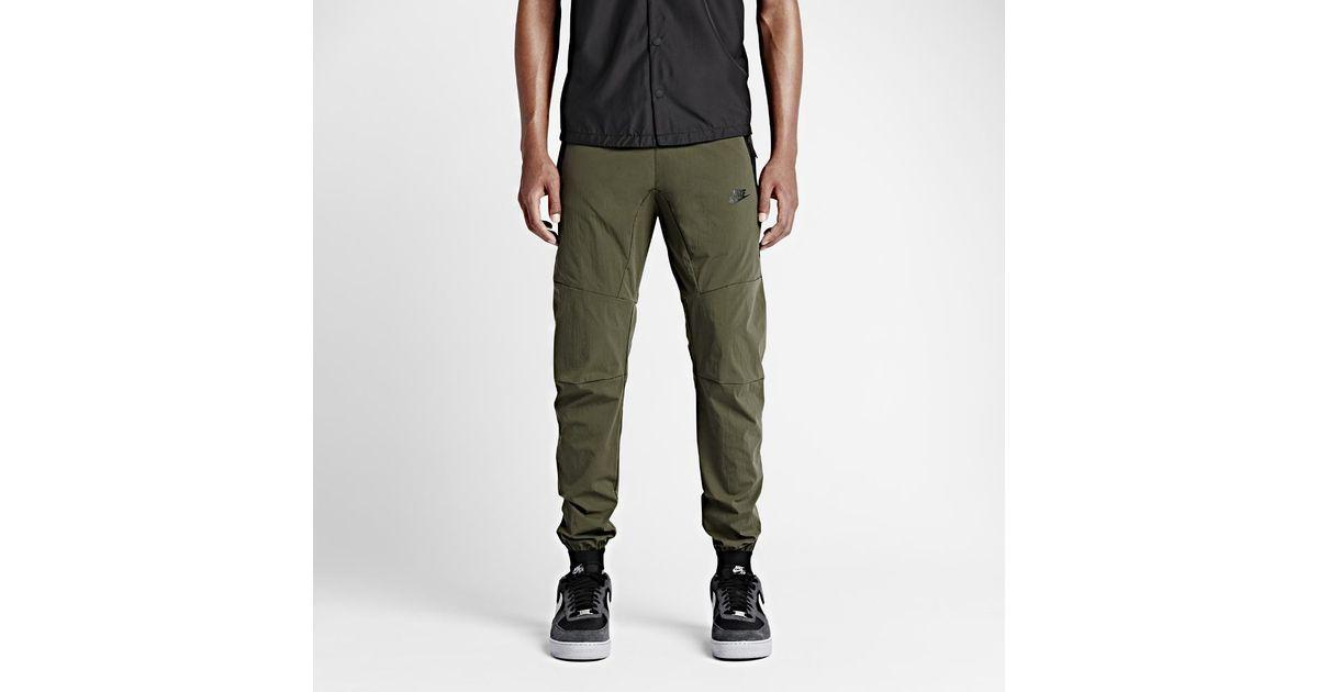 7853bd0382a83 Nike Tech Woven 2.0 Men's Pants in Black for Men - Lyst