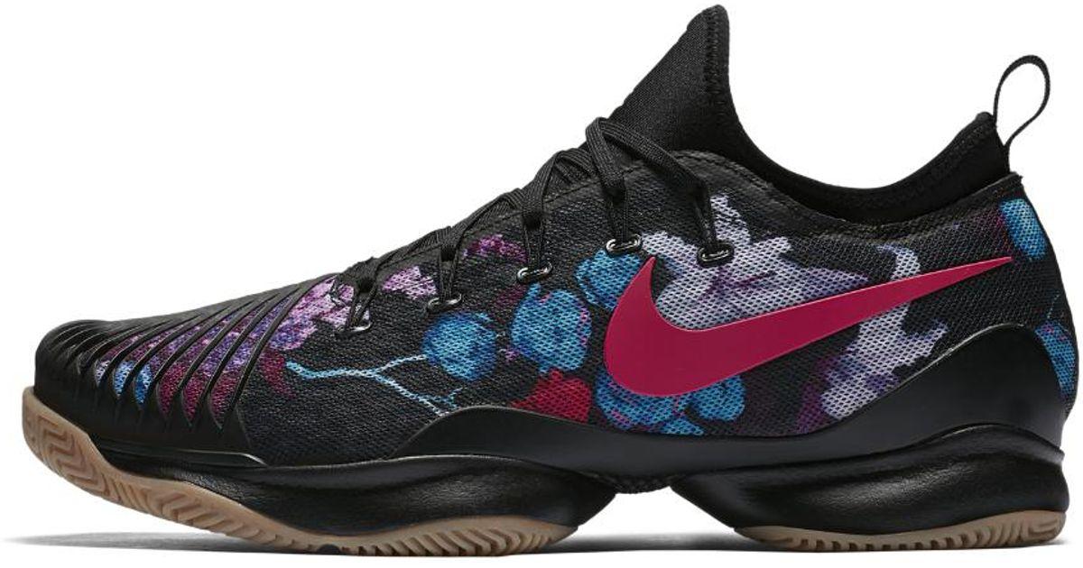 timeless design e7f34 6ba59 Nike Court Air Zoom Ultra Rct Hard Court Premium Men's Tennis Shoe in Black  for Men - Lyst