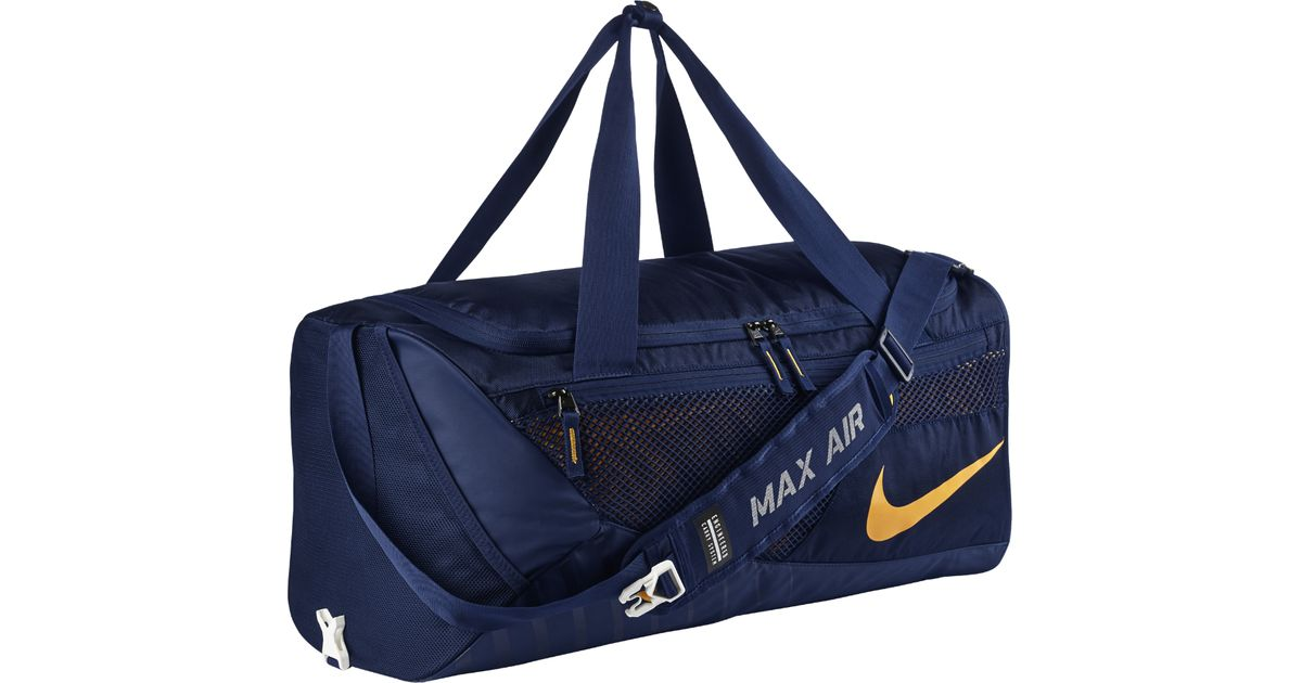 da3a5357820a Lyst - Nike College Vapor (west Virginia) Duffel Bag (blue) in Blue for Men