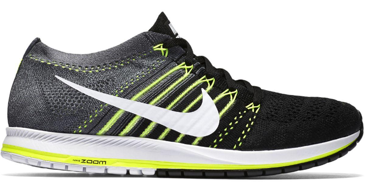 9ca1ba19926d Lyst - Nike Zoom Flyknit Streak Running Shoe in Gray for Men