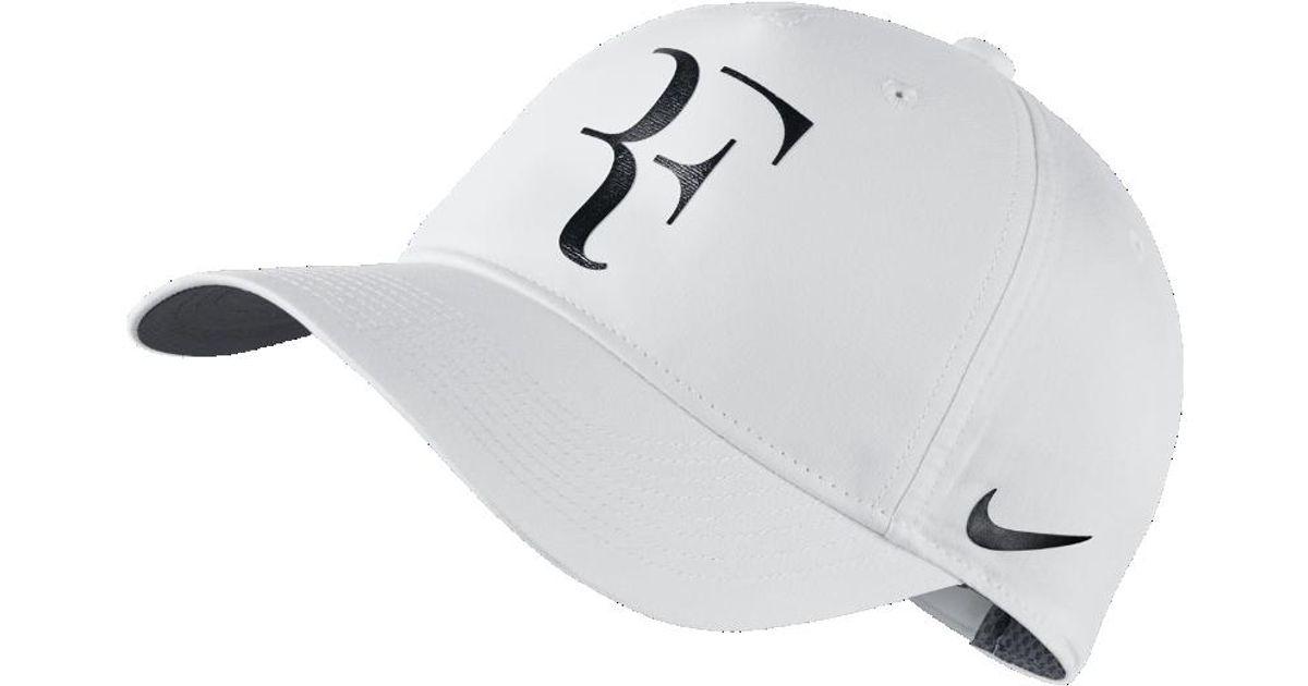 bfe43d65625 Lyst - Nike Court Roger Federer Iridescent Adjustable Hat (white) in White  for Men