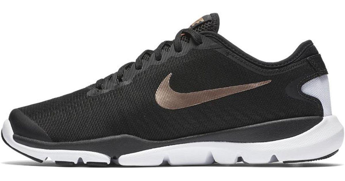 free shipping 56c93 cdf2f Lyst - Nike Flex Supreme Tr 4 Womens Training Shoe in Black