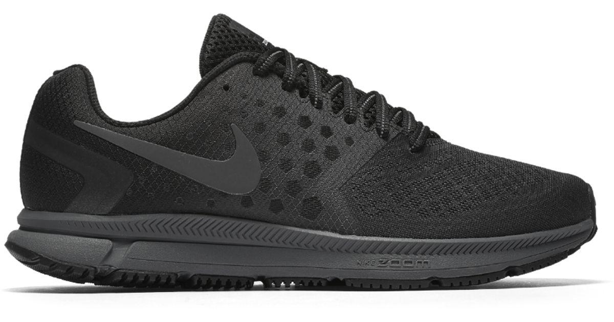 75e39e70b35a Lyst - Nike Air Zoom Span Shield Men s Running Shoe in Black for Men