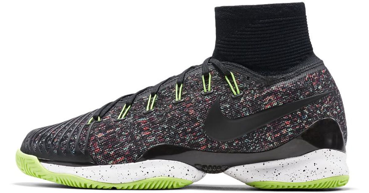 bc01bc3afb0e1 Nike Court Air Zoom Ultrafly Hc Qs Ldn Men's Tennis Shoe in Black for Men -  Lyst