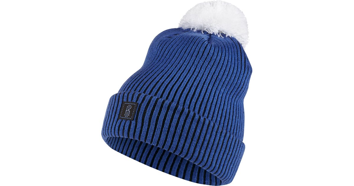 dfc8cb3a4a0 Lyst - Nike Kyrie Signature Knit Hat (blue) in Blue
