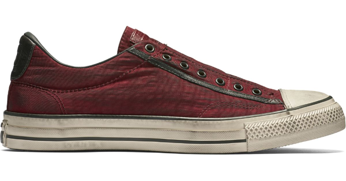 ... sweden lyst converse x john varvatos chuck taylor all star painted  nylon low top slip on 031ccac6e