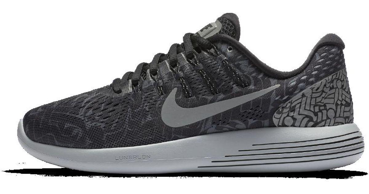 584737ea6654 Lyst - Nike Lunarglide 8 (rostarr) Women s Running Shoe in Black