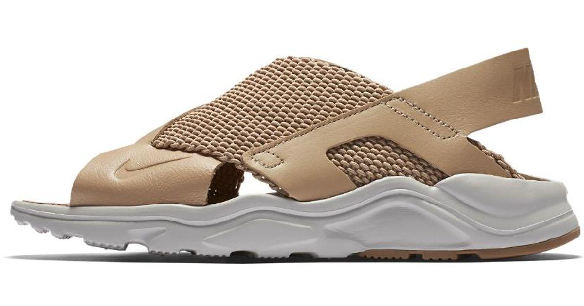 2106fb3a9f6d Lyst - Nike Air Huarache Ultra Women s Sandal in Brown