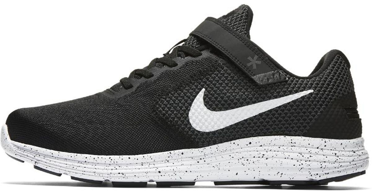 Lyst - Nike Revolution 3 Flyease (wide) Men's Running Shoe in Black for Men