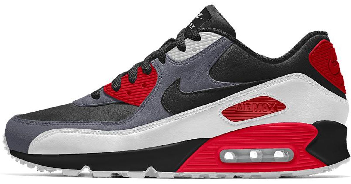 Lyst Nike Air Max 90 Id Women's Shoe in Red