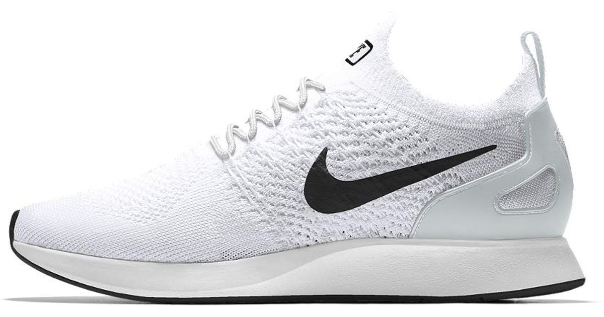 0f01c63b14a8f ... closeout lyst nike air zoom mariah flyknit racer id mens shoe in white  for men aaa88