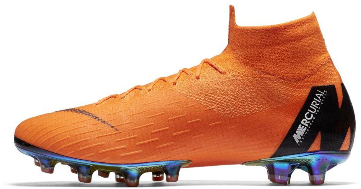 8e86e7d5d Nike Mercurial Superfly 360 Elite Ag-pro Artificial-grass Soccer Cleats in  Orange for Men - Lyst