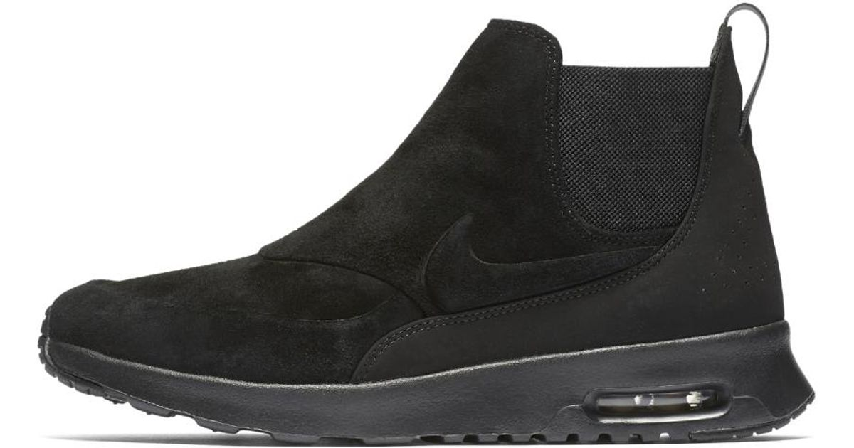 best sneakers 0d25b 9b63a ... Lyst - Nike Air Max Thea Mid Women s Shoe in Black ...