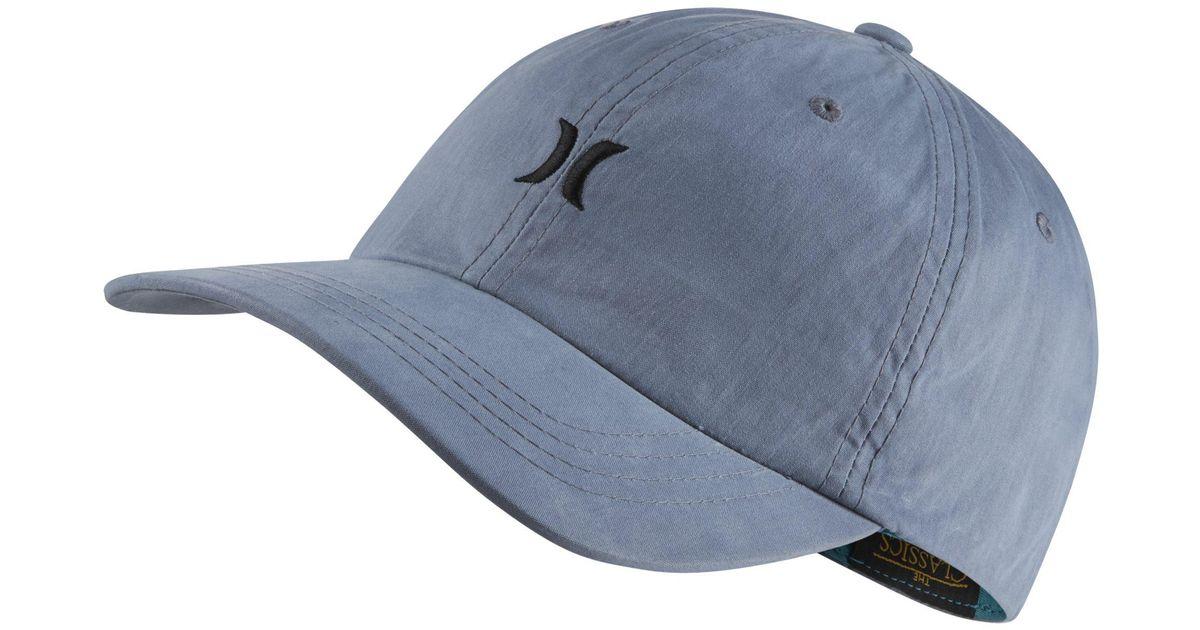 Nike Hurley Chiller Adjustable Hat in Blue for Men - Lyst 1d667680a59