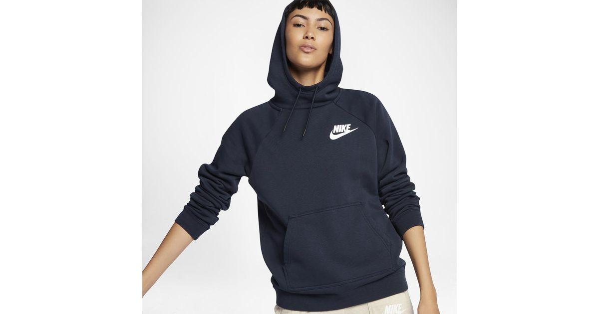 6cab3dde3b9 Nike Sportswear Rally Women s Fleece Hoodie in Blue for Men - Lyst