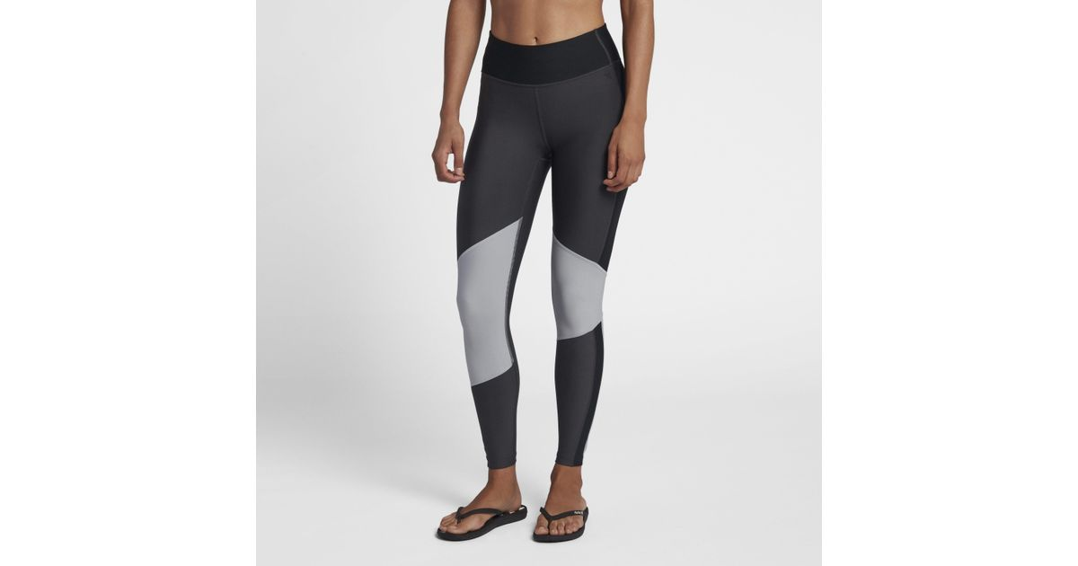 41e02046f0f04 Nike Hurley Street Ready Surf Leggings in Black - Lyst