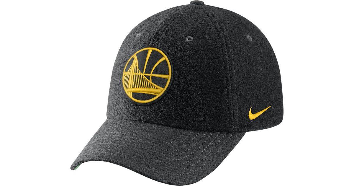 Lyst - Nike Golden State Warriors Heritage86 Nba Hat (black) in Black for  Men 9e43bc8dac6