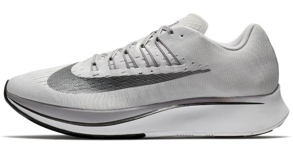 new styles b22f5 1c71c Nike Zoom Fly Men s Running Shoe in Gray for Men - Lyst