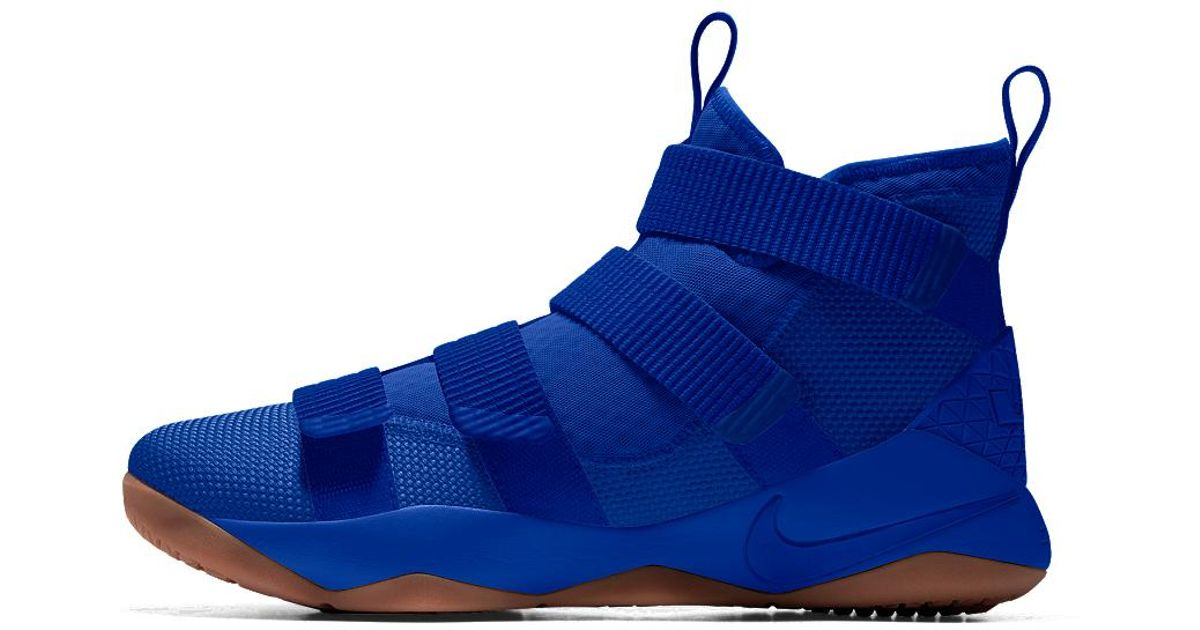 e64635a89cd Nike Lebron Soldier Xi Id Men s Basketball Shoe in Blue for Men - Lyst