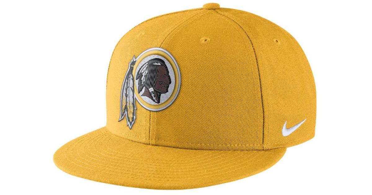Lyst - Nike Color Rush True (nfl Redskins) Adjustable Hat (orange) in  Metallic for Men e6a0ba287