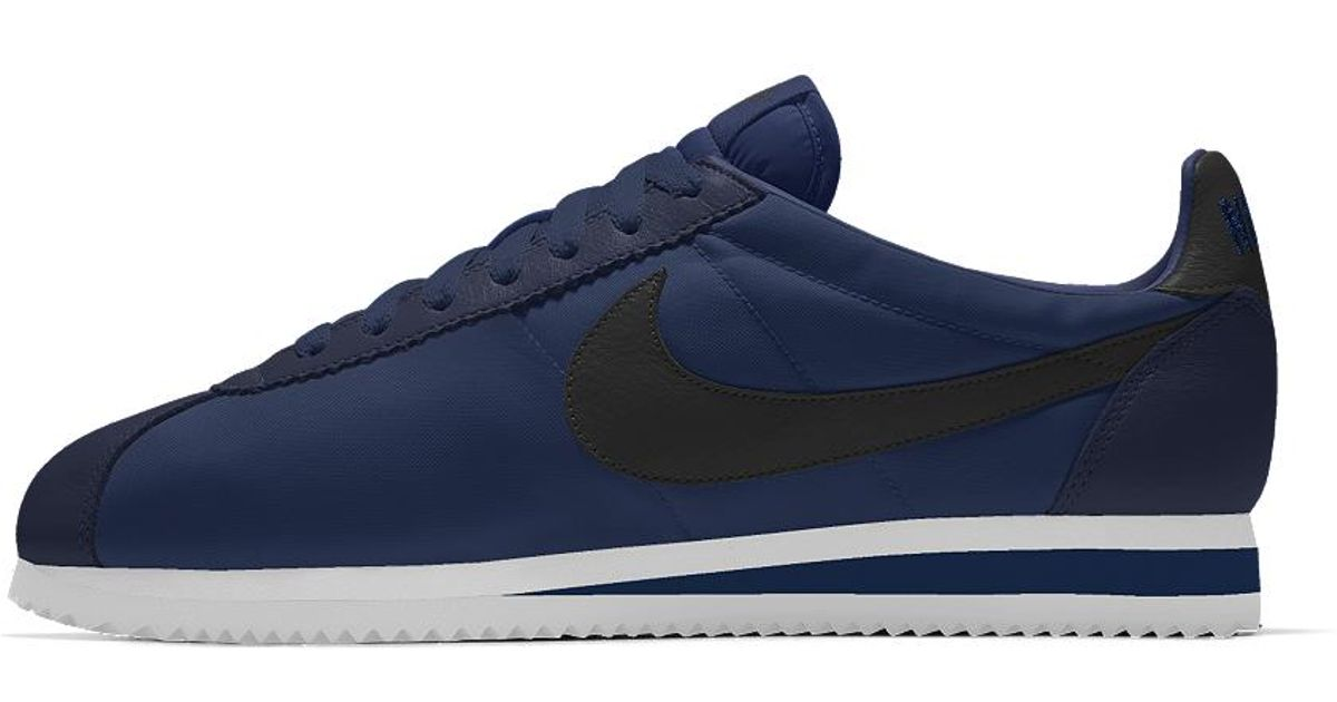 cheap for discount 7051f 24773 Nike Classic Cortez Id Men s Shoe in Blue for Men - Lyst