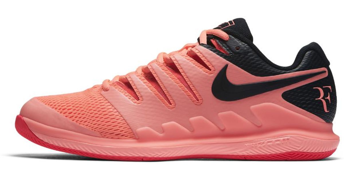 39bc54eb3b7 Lyst - Nike Air Zoom Vapor X Men s Tennis Shoe in Red for Men