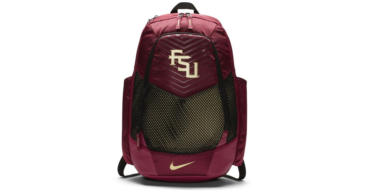 1d5b08cfee Lyst - Nike College Vapor Power (florida State) Backpack (red) in Red for  Men