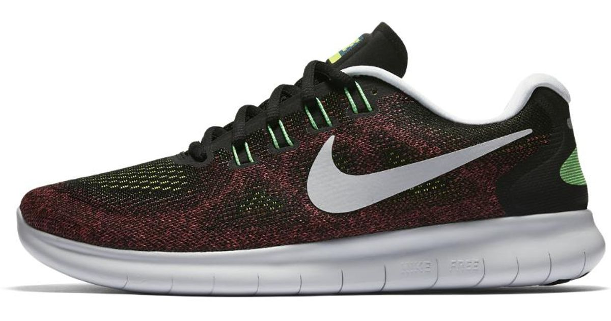 8ce4f98fb9346 ... clearance lyst nike free rn 2017 mens running shoe in black for men  85e3f a0030