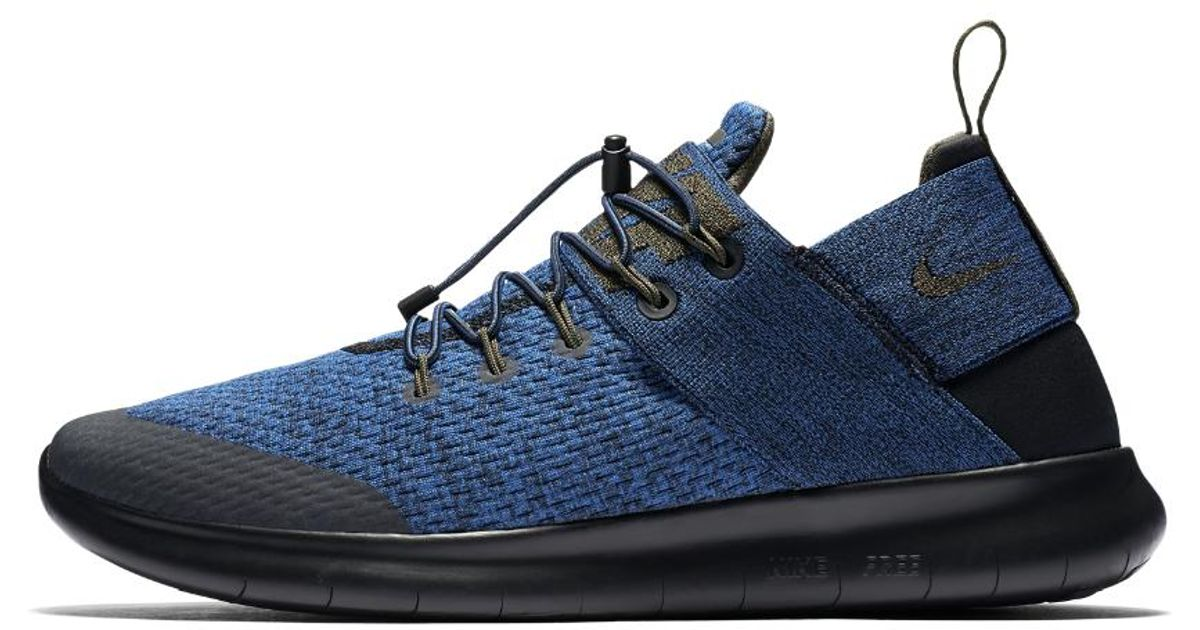 20dc583c102 Lyst - Nike Free Rn Commuter 2017 Premium Men s Running Shoe in Blue for Men