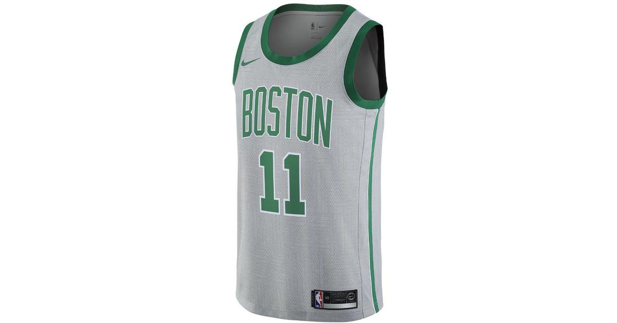wholesale dealer c4718 bc6f8 Nike - Multicolor Kyrie Irving City Edition Swingman Jersey (boston  Celtics) Men's Nba Jersey for Men - Lyst
