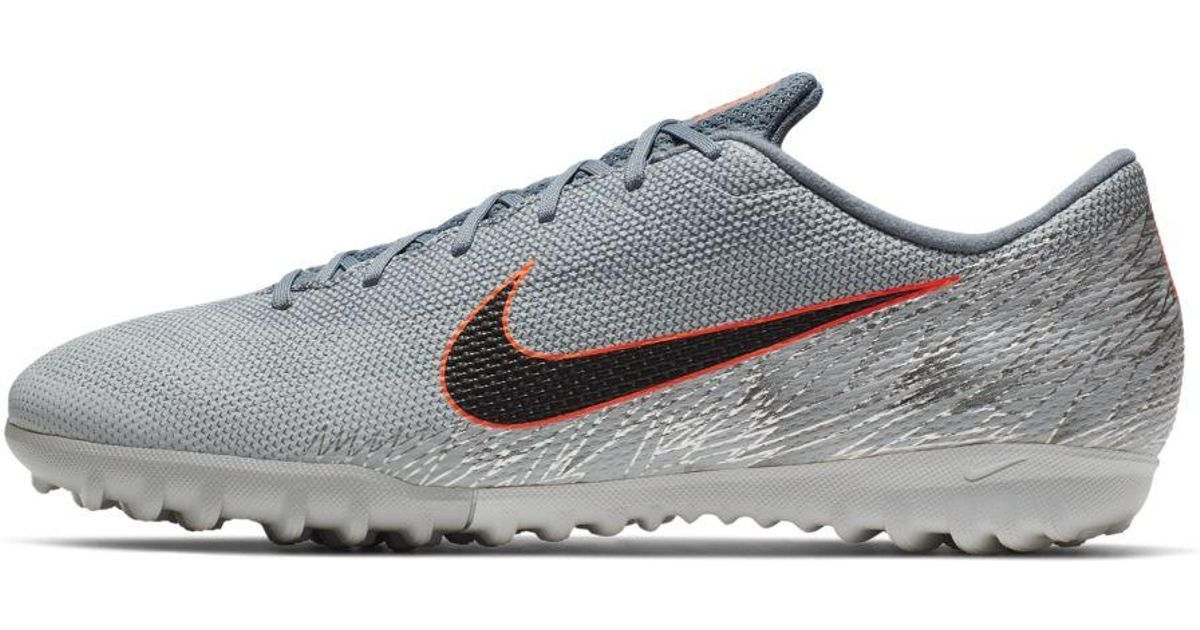 a1a998518da3 Nike Vaporx 12 Academy Tf Artificial-turf Soccer Cleat in Gray for Men -  Lyst