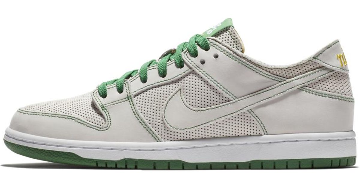 2a299b8347f Lyst - Nike Sb Zoom Dunk Low Pro Deconstructed Qs X Ishod Wair Men s  Skateboarding Shoe in White for Men