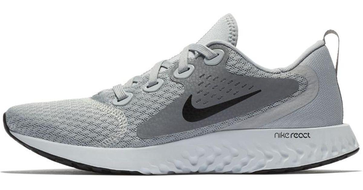 buy online b5b71 bac2b Lyst - Nike Legend React Womens Running Shoe in Gray