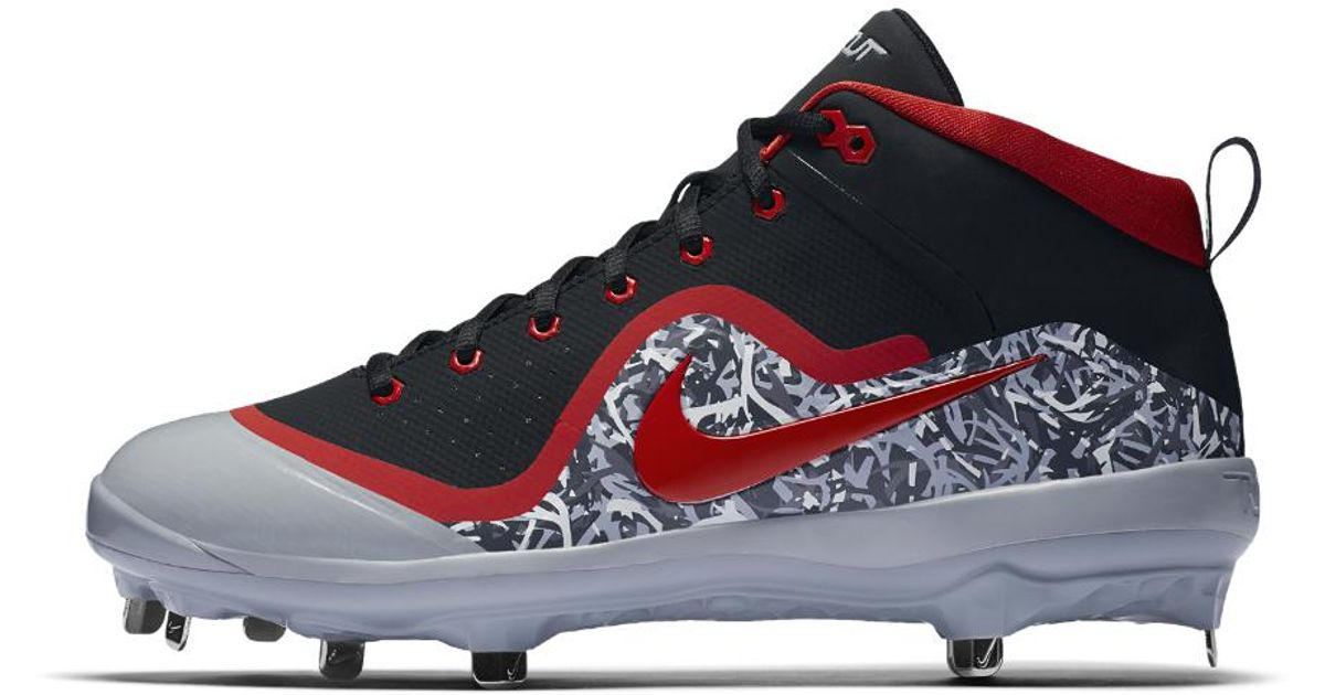 new concept 9a54f f4077 Lyst - Nike Force Air Trout 4 Pro Mens Baseball Cleats in Re